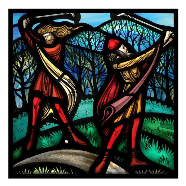 Card 11 -'Golfers'
