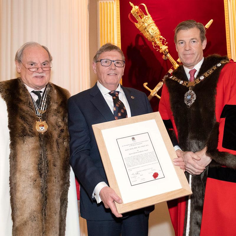 Keith Barley Master award