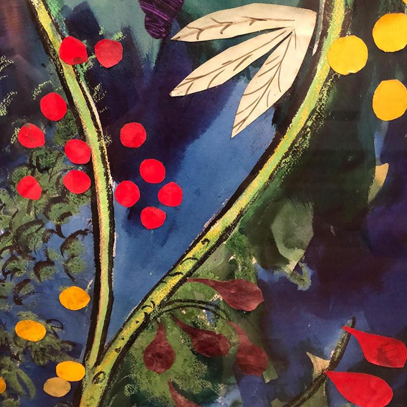 Cartoon - close up colourful