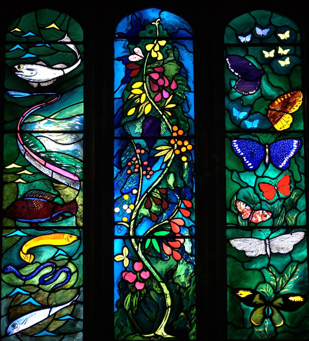 Farnborough (Berks), All Saints. John Piper